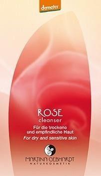 MARTINA GEBHARDT Naturkosmetik ROSE Mleczko oczyszczające 2 ml 62019