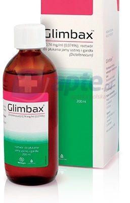 Medagro Glimbax roztwór do płukania jamy ustnej 200 ml