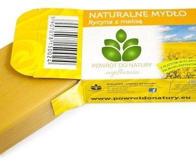 Melisa 100% roślinne naturalne mydło Rycyna I 100