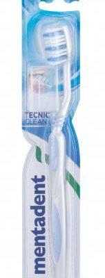 Mentadent Mentadent Tecnic Clean Hard szczoteczka do zębów 1 szt unisex