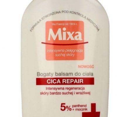 Mixa Bogaty Balsam do ciała Cica Repair - skóra bardzo sucha i wrażliwa 400ml 09M34737