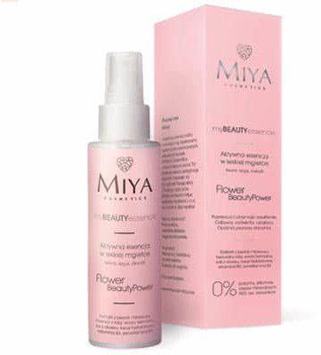 miya cosmetics Aktywna esencja w lekkiej mgiełce - myBEAUTYessence FLOWER BeautyPower 100ml Miya Cosmetics