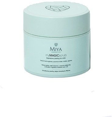 Miya Cosmetics Miya Cosmetics, My Magic Scrub, ekspresowy peeling do ciała, 200 g