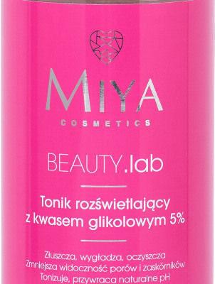 Miya MIYA - BEAUTY.lab - Tonik rozświetlający z kwasem glikolowym 5% - 150 ml