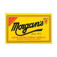 Morgan's Morgans Morgans antybakteryjne mydło do brody w kostce 80g