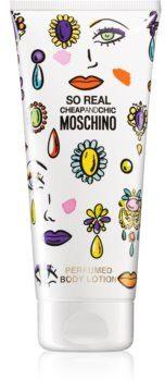 Moschino So Real mleczko do ciała dla kobiet 200 ml