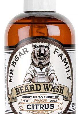 Mr. Bear Family Mr. Bear Family Szampon cytrusowy do brody 250 ml 0000026885