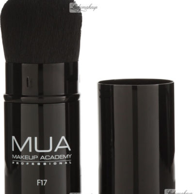 MUA Retractable Kabuki Brush - Pędzel kabuki do pudru - F17 MUAKPPF1