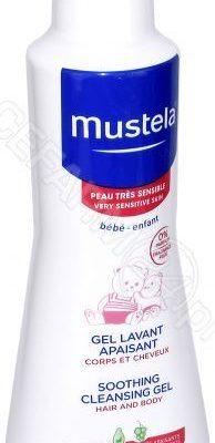 Mustela EXPANSCIENCE Bebe łagodzący żel do mycia 300 ml