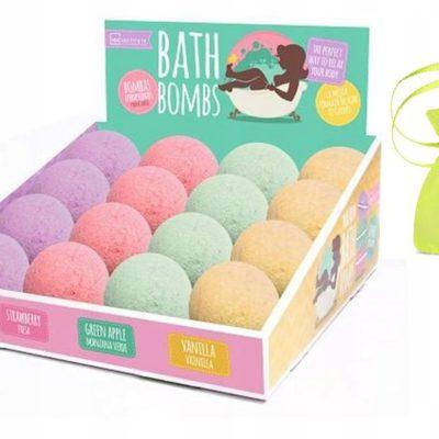 Musujące Kule Do Kąpieli MIX Zapachów Zestaw 3szt