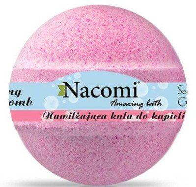 Nacomi Kula do kąpieli o zapachu maliny - Raspberry Bath Bomb Kula do kąpieli o zapachu maliny - Raspberry Bath Bomb