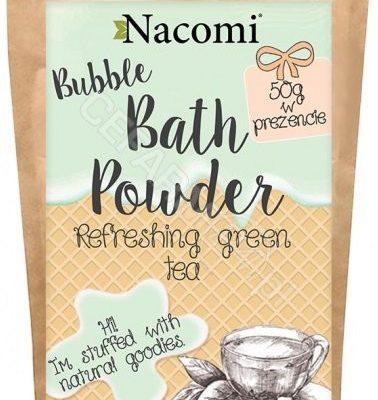 Nacomi Nacomi Puder do kąpieli Odświeżająca zielona herbata 150g NACO-1913