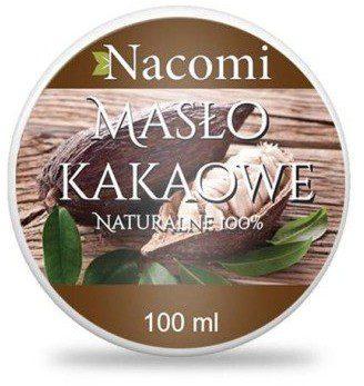 Nacomi Naturalne masło kakaowe - Naturalne masło kakaowe -
