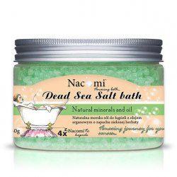 Nacomi sól do kąpieli Odświeżająca zielona herbata 450g