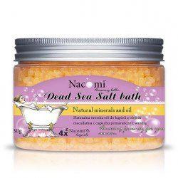 Nacomi sól do kąpieli Pomarańczowo-waniliowe lody 450g