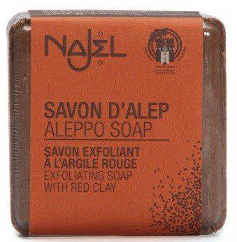 NAJEL Mydło Aleppo z czerwoną glinką 100g NAJ-3264