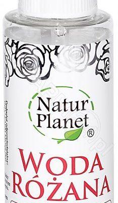 NATUR PLANET NATUR PLANET Woda różana 100 ml