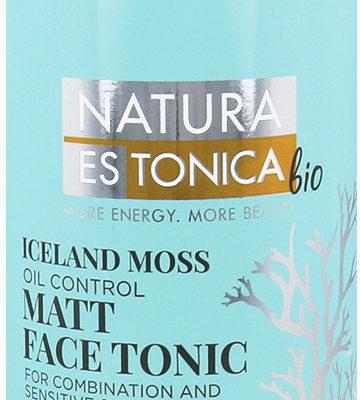 Natura Estonica Natura Estonica Face Tonic Matt Iceland Moss Matujący Tonik Do Twarzy Płunica Islandzka 200ml