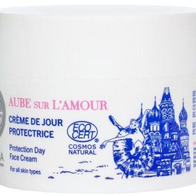 Natura Siberica Aube Sur LAmour Protection Day Face Cream 50 ml Ochronny krem do twarzy na dzień Hydrolat z Róż Rose de Grasse&Wiesiołek Siberica LETNIA WYPRZEDAŻ DO 80%