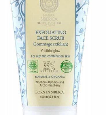 Natura Siberica Exfoliating Face Scrub złuszczający scrub do twarzy 150ml