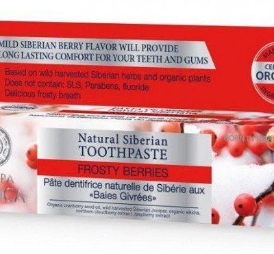 Natura Siberica Natura Siberica Frosty Berries Toothpaste pasta do zębów 100g
