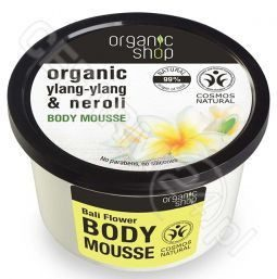 Natura Siberica Organic Shop Bali Flower Body Mousse mus do ciała 250ml