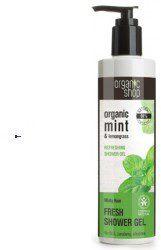 Natura Siberica Organic Shop Minty Rain Fresh Shower Gel sg 280ml