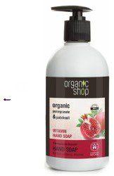 Natura Siberica Organic Shop Pomegranate Bracelet Hand Soap U) mydło do rąk 500ml