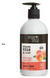 Natura Siberica Organic Shop Rose Peach Hand Soap U) mydło do rąk 500ml