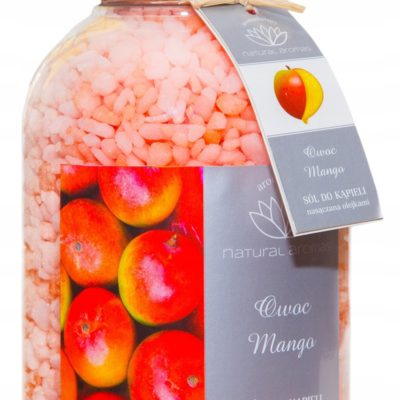 Natural Aromas Sól do kąpieli Owoc Mango 670g