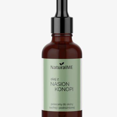 NaturalME olej z nasion konopii dla suchej skóry