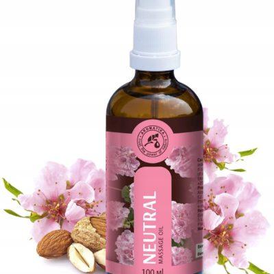 Naturalny olejek do masażu Bez lepkiego efektu 100