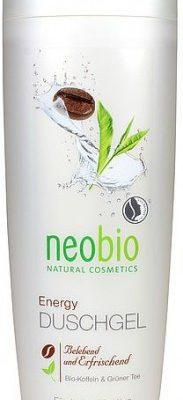 NeoBio (kosmetyki eko) ŻEL POD PRYSZNIC Z KOFEINĄ I ZIELONĄ HERBATĄ ECO 250 ml -