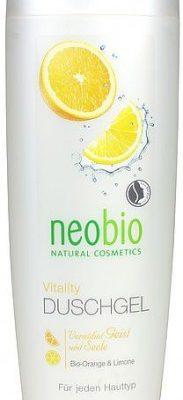 NeoBio (kosmetyki eko) ŻEL POD PRYSZNIC Z WYCIĄGIEM Z POMARAŃCZY I CYTRYN ECO 250 ml -