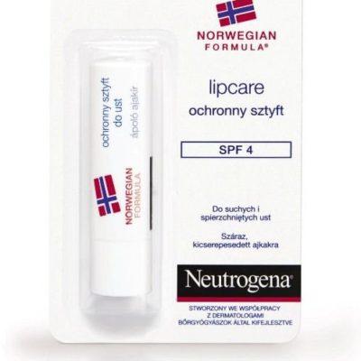Neutrogena Formuła Norweska, ochronny sztyft do ust SPF 4, 4,8 g