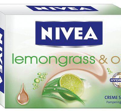 Nivea Kremowe Mydło w kostce Lemongrass & Oil 100g