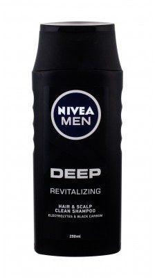 Nivea Men Deep Revitalizing szampon do włosów 250 ml dla mężczyzn