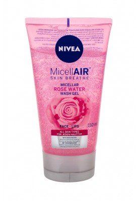 Nivea MicellAIR Rose Water żel oczyszczający 150 ml dla kobiet
