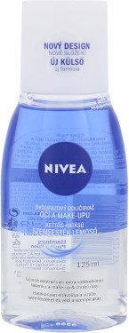 Nivea Nivea Double Effect Eye Make-up Remover demakijaż oczu 125 ml dla kobiet 40795