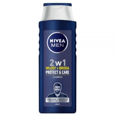 Nivea Szampon do włosów i brody Men Protect & Care 400 ml