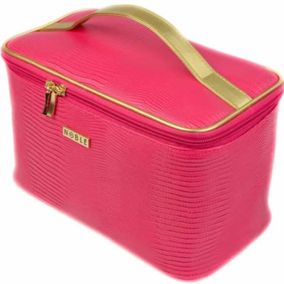 Noble Cosmetic Damska kosmetyczka kuferek Pink P003