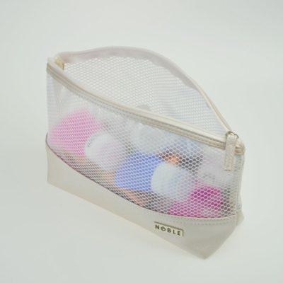 Noble Cosmetic Duża przezroczysta wodoodporna kosmetyczka ST007 ST007