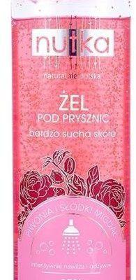 Nutka Nutka Żel pod prysznic bardzo sucha skóra Piwonia i Słodki Migdał 400ml