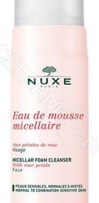 Nuxe Eau De Mouse Micellaire Aux 3 roses  pianka micelarna do demakijażu 150ml