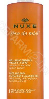 Nuxe Reve de MielR - Żel do mycia twarzy i demakijażu 200 ml