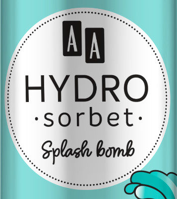 Oceanic AA HYDRO SORBET KOREAN FORMULA Splash bomb - esencja oczyszczająca 100 ml