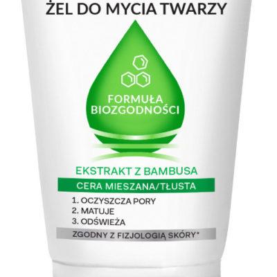 Oceanic AA Matujący żel do mycia twarzy Formuła Biozgodności, Cera mieszana/tłusta, 150 ml