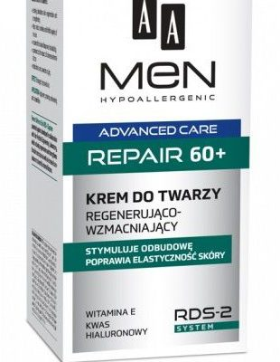 Oceanic AA_Men Advanced Care Face Cream Repair 60+ regenerująco-wzmacniający krem do twarzy 50ml