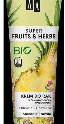 Oceanic FRUITS&HERBS Krem do rąk ananas i szałwia 100ml