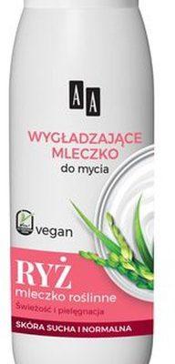 Oceanic Vegan wygładzające mleczko do mycia Ryż 400ml